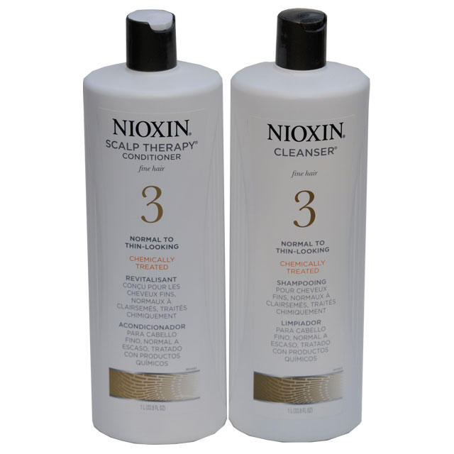 Nioxin 3 Shampoo And Conditioner Duo Liter 1l Each