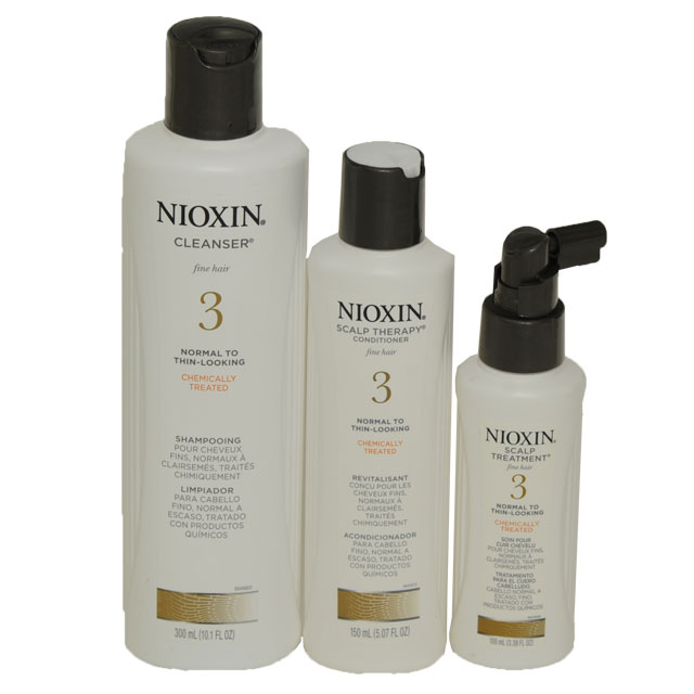 Nioxin System 3 Trio Shampoo Conditioner Treatment